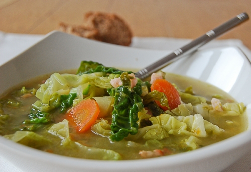 kale and bacon soup