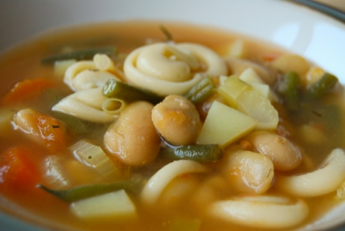 Minestrone – my version of an Italian classic