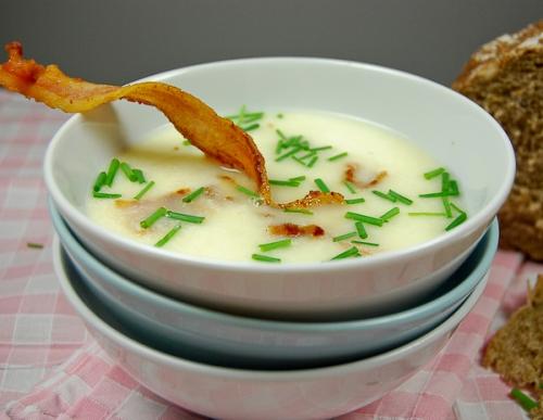 grandmas potato and buttermilk soup