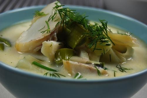 smoked haddock soup